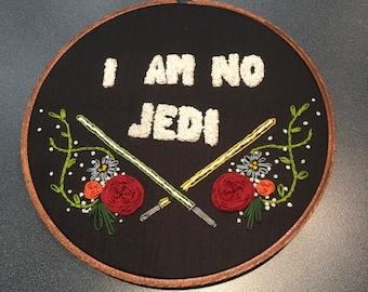 Star Wars Embroidery Hoop