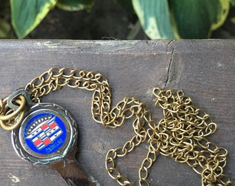 Vintage Cadillac Key Necklace