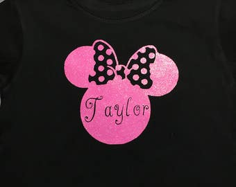 Persolized Minnie Mouse shirt