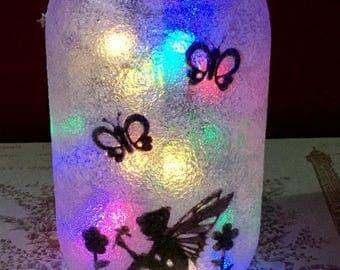 Fairy LED Jar