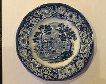 liberty blue Monticello saucer Spring sale up to 40% off