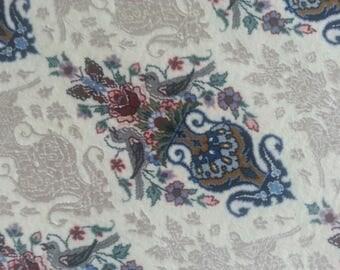 Persian rug Esfahan 7.4 × 4.11 ft 224 × 151 cm