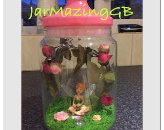 Tinkerbell Jar Light