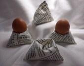Eggs, bean bag, bean bag, stand, pyramid, newspaper