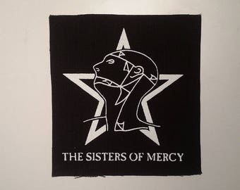 Sisters of mercy patch goth rock alternative Merciful release