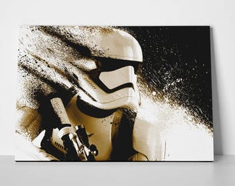 Stormtrooper Star Wars Poster or Canvas | Limited Edition Star Wars Poster or Canvas