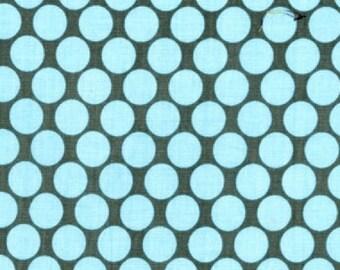AB-13 - Slate Amy Butler Fabric Lotus Collection - Full Moon Polka Dot