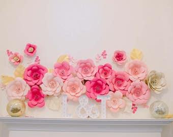 Giant elegant flower/wall decoration