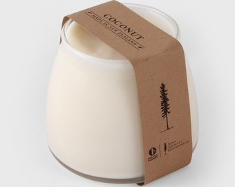 Soy Wax Candle in a Jar - Coconut