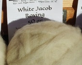 White natural undyed Jaco...