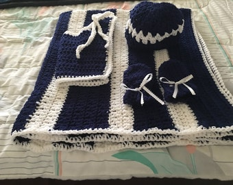 Boy Baby Blanket set