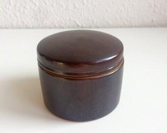 L. Hjort - Small Lidded Jar - Danish Design