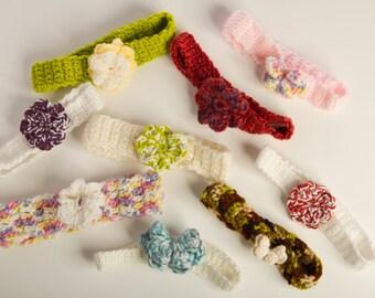 Baby Crochet Handbands