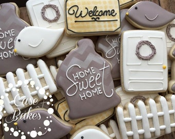 New Home housewarming Cookies - 1 dozen