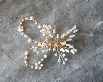 Butterfly Hair Clip, Wedding Hair Clip, Wedding Accessory, Bridal Hair Clip
