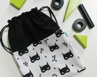 Bags or children backpack - BATMASK MODEL - Waterproof