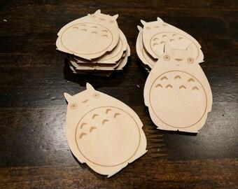 Totoro Magnet- My Neighbor Totoro- Miyazaki Hayao- Studio Ghibli- Fridge Magnet- Unique Gift- Geeky Gift- Gifts under 10