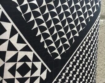 Large Black & White Pattern Leggings, Tights, Yoga Pants, Stretch Pants, Stretch,