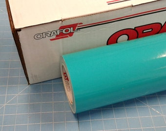 """Turquoise Oracal 651 24"""" x 50' Roll * Sign Vinyl * Decal Vinyl"""