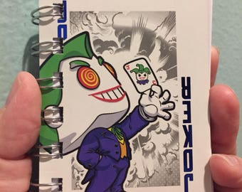 Tiny Joker Playing card notebook 223