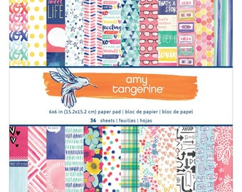 Scrapbook Paper Collection | Amy Tangerine
