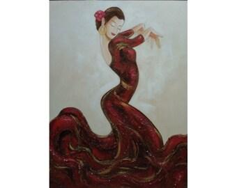 flamenco dancer woman