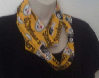 Pittsburgh Steelers Infinity  Style Scarf