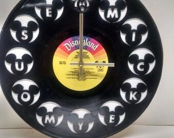 Mickey Mouse Club Album Clock