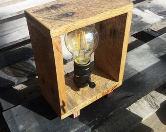 Rustic Vinatge Lamp, Desk Lamp, Desk Light