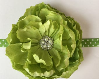 Large Lime green flower