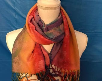 Pashmina Scarves, Cotton Scarf, Wraps women 2017, Mothers day gift pashmina scarf shawl