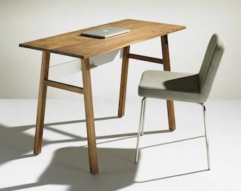 Modern Solid Walnut Desk