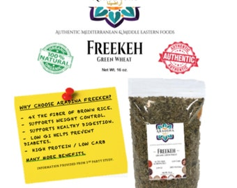 Aradina, 100% Natural Freekeh 16oz