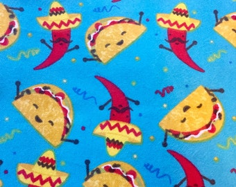 Let's Taco Bout It CUSTOM MADE Dog or Cat Bandana