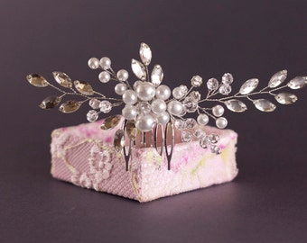 Bridal Hair Comb, Wedding Hair Comb,Crystal Bridal Hair Comb, Crystal Hair Comb, Bridal Headpiece, Crystal Headpiece, Wedding Headpiece