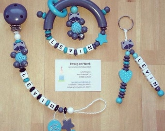 Set Tutana, gripping ring & key chain