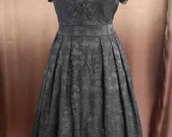 Rockabilly 50s prom dress in lace