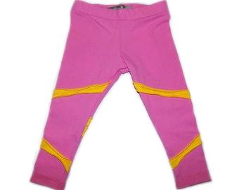Carnation Pink Jersey Knit Legging. PN-015