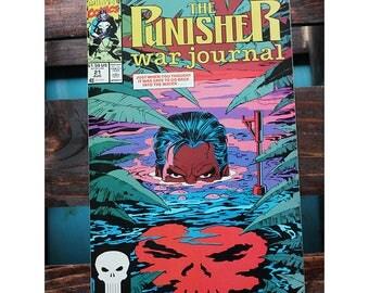 The Punisher War Journal 21 1988