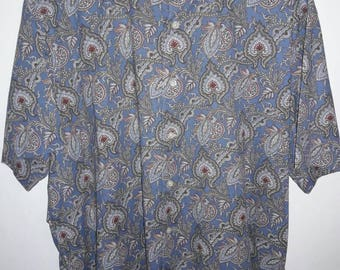 Cremiex Paisley Button Up shirt