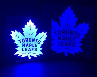 Toronto Maple Leafs Color Changing LED lit mirror