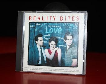 Reality Bites 1993 Movie Soundtrack Lenny Kravitz U2 Crowded House The Knack Juliana Hatfield The Posies Squeeze Lisa Loeb