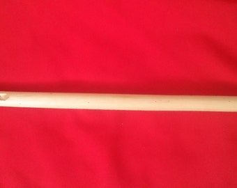 Student wooden traditional Musical instrument  from Romania -Fluier (shepperd flute)
