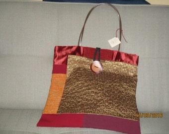 Patchwork bag laminated fabric