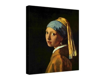 Johannes Vermeer The Girl with a Pearl Earring - Gallery Grade Canvas Wall Art