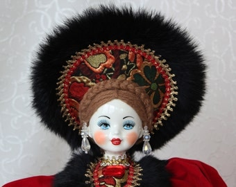 Russian doll. Name - Marusya