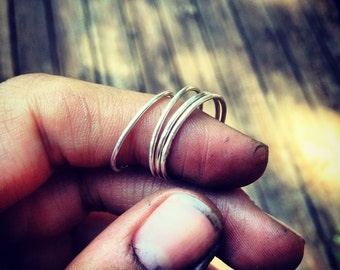 Stacking Ring - Sterling Silver
