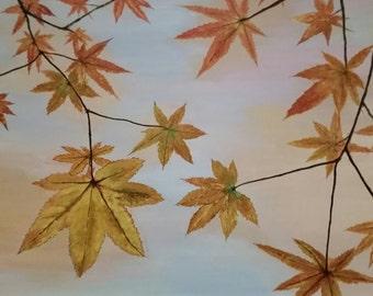 Fluttering Leaves (Original)