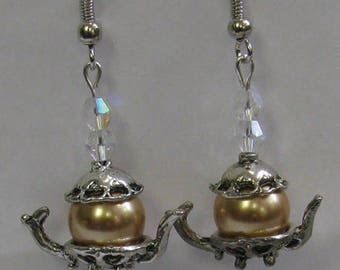 Teapot Earrings E32