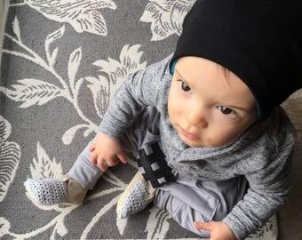 Baby Harem Pants, Toddler Harem Pants, Hashtag Pants, Organic Cotton and Bamboo Harem Pants